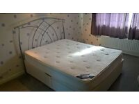 DREAMWORLD King Size Draw Divan bed