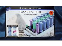 Remington Smart setter. 20 visible heat rollers for perfectly timed curls.