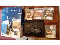 Sony PS 3 Brand new Bought 29th June 2016 + 5 games £100 Quick sale Used once!