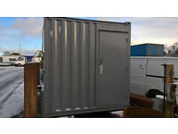 SHIPPING CONTAINER - 12ft3inch x 8ft - PORTABLE CABIN-STORAGE - MOTORCYCLE?QUAD SHED