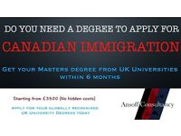 UK University Degree within 6 months - Contact Ansoff Consultancy