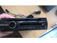 For sale, Sony Bluetooth car radio / cd player with usb