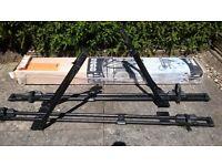 Thule roof bars for 2 bikes
