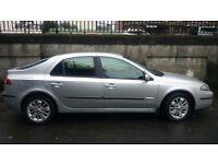 Reliable 2005 Silver Renault Laguna, Good Condition, MOT'd until November. Great Value!