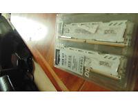 16gb crucial ballistix ddr4 memory 2400mhz
