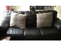 3 seater leather sofa. Made from hard wearing rhinohide