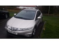 Honda civic se 2.2 i'cdti turbo diesel 6 speed 57 reg service history great condition