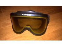 CARRERA SKI goggles , second hand but in good condition .