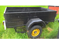 DIY OR CAMPING TRAILER NEW LIGHTS AND SPARE WHEEL