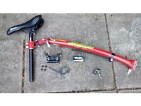 Trail-Gator bike tow bar for sale. Good condition. Can deliver close to Rugby.