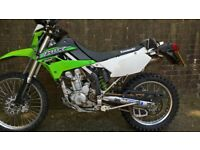 trail bike kawasaki klx250
