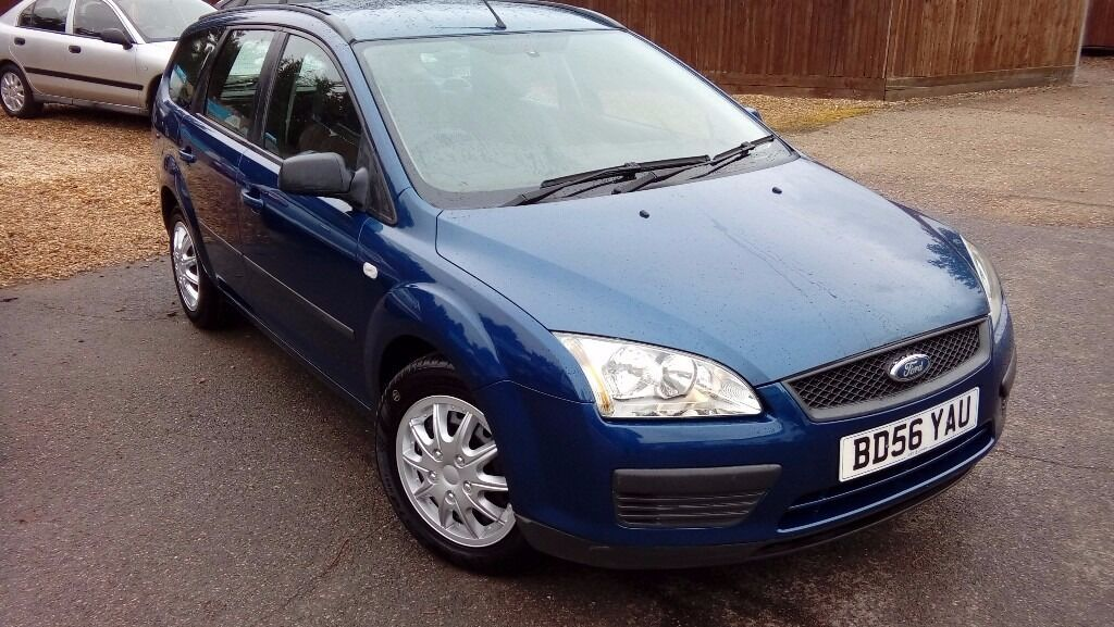LOW MILEAGE FORD FOCUS ESTATE 1.6L & NEW MOT AND 6 MONTH WARRANTY