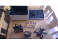 mini quad that is well set up and flys great with fpv goggles also a plane/trex150