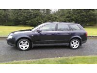 AUDI A4 AVANT ESTATE 1.9 TDI DIESEL FULL YEAR MOT IN EXCELLENT CONDITION INSIDE AND OUT