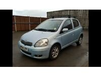 Toyota Yaris 2004, hatchback 5 doors, automatic, HPI clear, drives very good, 1 year MOT, 1.3 engine