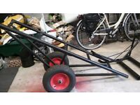 Carpet roll trolley and Lifting bars
