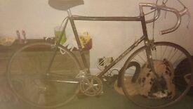 classic raleigh racing bike