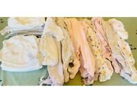 Baby girl bundle 'up to 1 month'
