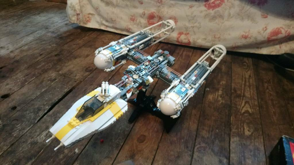 Star Wars Lego 10134 UCS Y-Wing Attack Starfighter   in Leamington ...