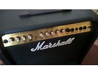 Marshall 40 watt guitar amp: vintage 1990's Valvestate 8040