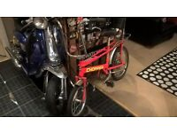 2004 Raleigh chopper in sought after red/yellow writing.
