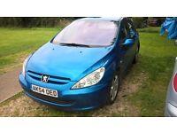 Peugeot 307 XSi 1.6 Diesel Spares or Repair. Short MOT 28/09/16. Please read add fully.