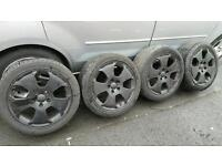 "AUDI A3 SPORT 17"" ALLOY WHEELS AND TYRES"