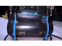 Salamander twin shower pump CT80B 2.6 bar
