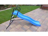 kid active outdoor childrens wavy slide