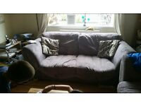 2seater/sofa bed & 3 seater sofas