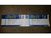 European Rugby Champions Cup Tickets X2 - Category 1