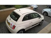 FIAT 500 1.2CC 2010 ON A 10 PLATE