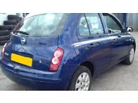 IDEAL LEANER/FIRST/SMALL FAMILY CAR 5 DOORS 2004 MICRA 1.2 16V S PETROL MANUAL MOT 08/18 £395