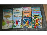 Various Rupert annuals , good condition