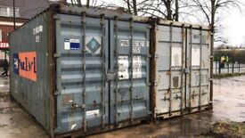 STORAGE CONTAINERS TO LET