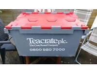 Heavy Duty Tote Storage Moving Stackable Boxes