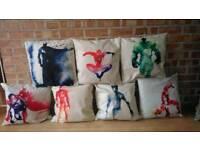 Cushion Covers Superhero/unicorn/Elephant
