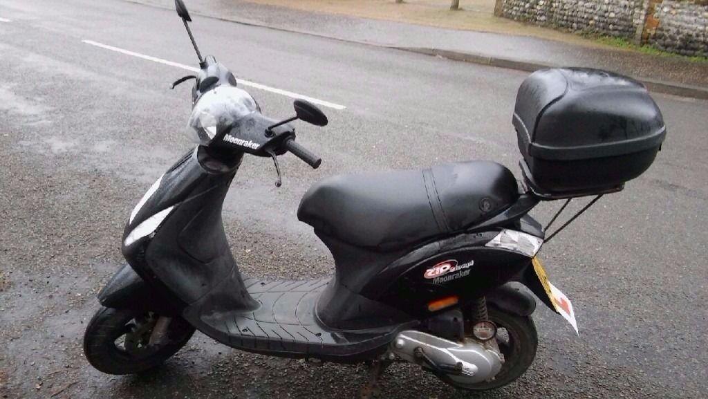 2009 piaggio zip 50cc - very good condition, new silencer/exhaust