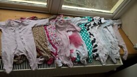 Baby Girl 3-6 months Clothes Huge Bundle mixed condition Next 30+ items