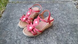 Selection of girls shoes. From only 50p. Shoes, slippers, flip flops, trainers.