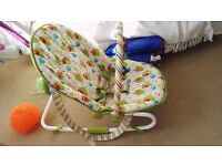 Mothercare B Owls 2 In 1 Rocker And Bouncer