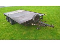 Ifor Williams Flat Bed 12X6
