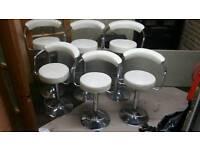 Stools chairs gas lift bar stools dining beakfast bar stool job lot clearance