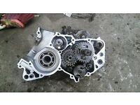 Dt 125 spares will fit tzr also. engine suspension forks swingarm head barrel