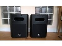 "Pair of EV (Electrovoice) SB122 12"" Passive Subwoofer Speakers with Covers. Postage available."