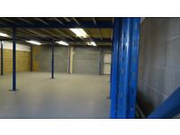 Warehouse Space To Let - 1300 Sqft