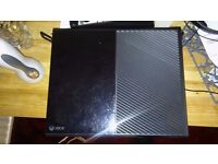 Xbox one with 5 games and 1 controller