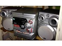 JVC 3 DISC HIFI SOUND SYSTEM