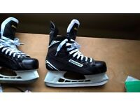 Ice skates for ice hockey Bauer S140, size 9.5 UK, 10.5 US