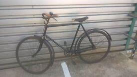 1932 Hercules Roadster Vintage Bicycle Antique Bike 28 inch wheels Veteran